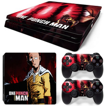 One Punch Man Skin Decal Cover Sticker For Sony PS4 Slim TN-P4Slim-1005