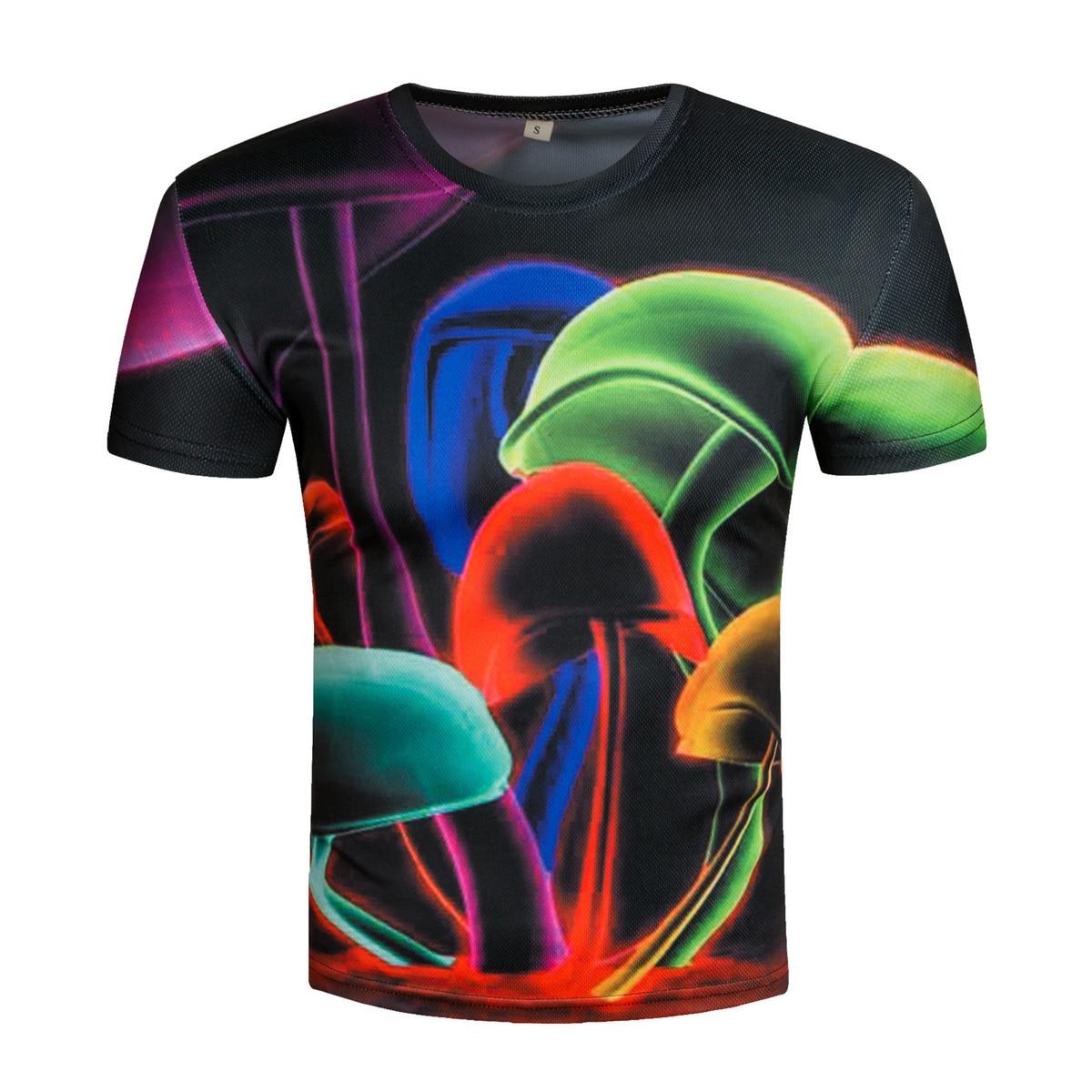 New Fashion tshirts Mens clothing Funny 3D man printed t-shirts Print Casual short sleeve tshirt T-Shirt male shirt homme