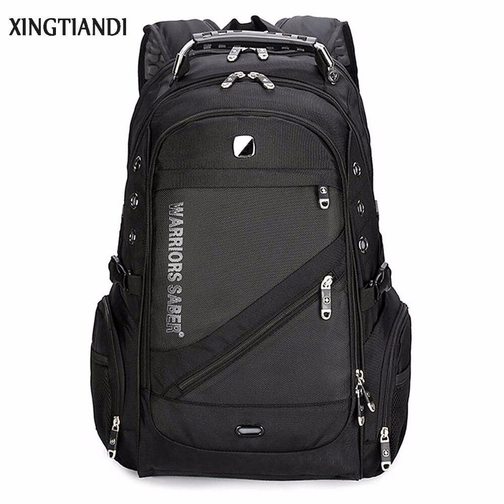 Fashion Man backpack Swiss Backpack Anti-theft Waterproof Multifunction USB Charging Business Casual Tourist Laptop Mochila цена