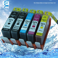5 pcs Compatível HP364XL cartucho de tinta 364 para C309a/C309n/g/C310a/C310b/C310c/impressora C410b