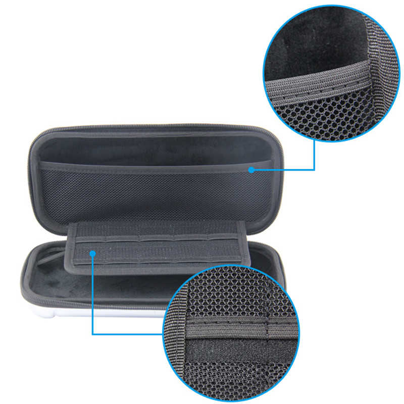 Anti Shock Hard Shell Case Carry Bag For Nintendo Switch Gamepads Travel Zip Case Dustproof Storage Box For NS Game Console