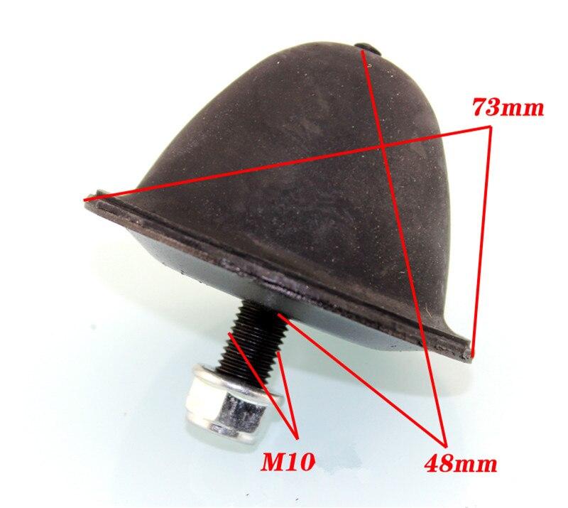 2 PCS pour la Mitsubishi Guépard V31, V33 LEOPAARD en plastique attaches pour Sous la suspension prochaine bras tampon en plastique bloc