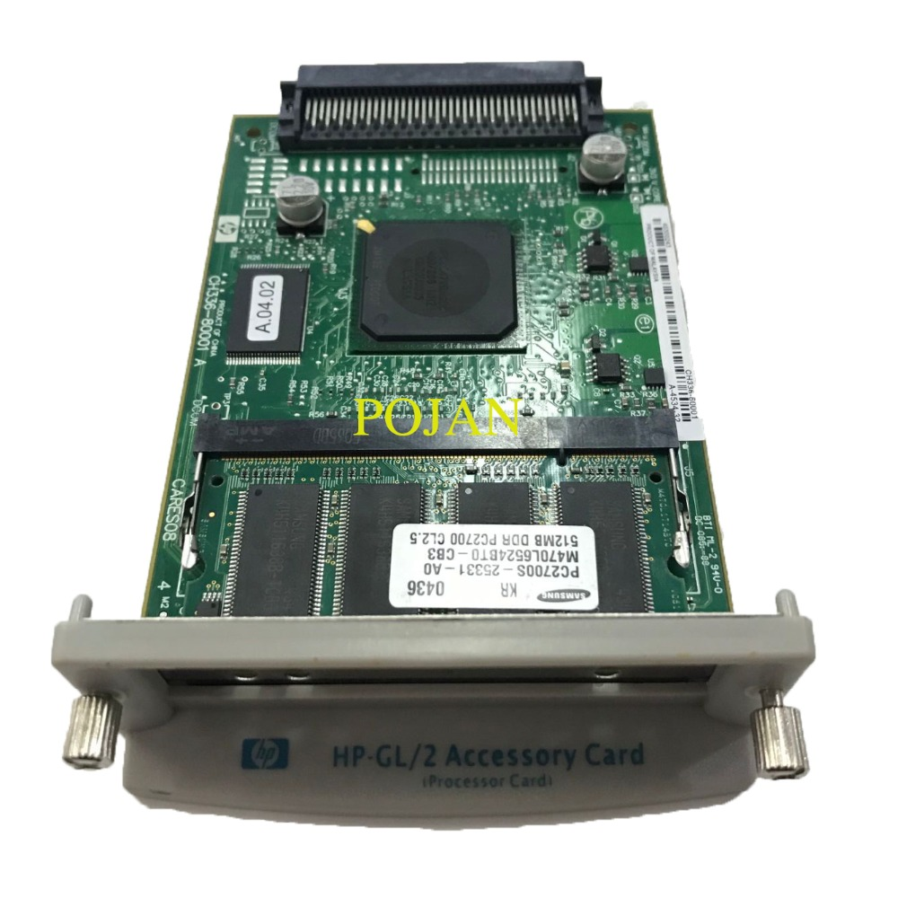 NEW CH336 60001 510 GL 2 Accessory Card Formatter Board for Designjet 510 510 ps fix