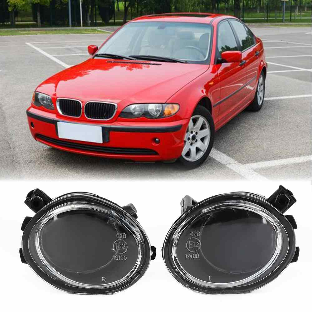 FOR BMW 3 Series M3 Clear Lens Driving Black Lights Lamps Lenses For 01-06 BMW E39 E46 3-Series 525I 528I 520I 530I