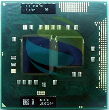 Intel Core I7 620m SLBTQ SLBPD cpu 4M/2.66GHz/3333 MHz/Dual-Core Laptop processor I7-620M Compatible HM57 HM55