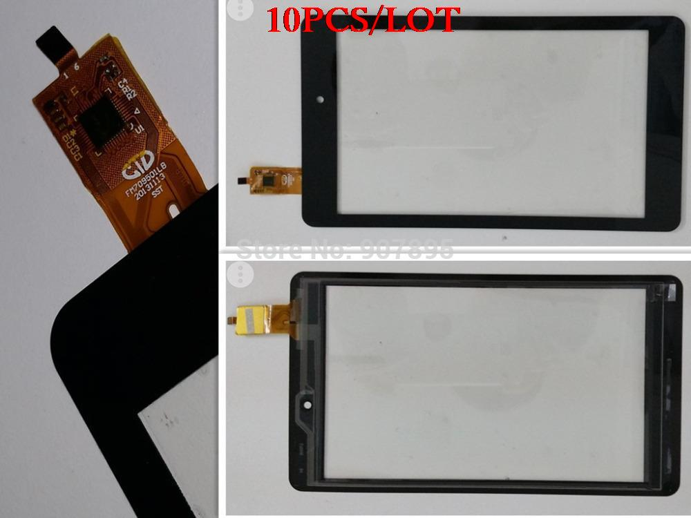10pcS 7inch capacitive touch screen ips touchscreen FM709501LB 20131113 SST for NAVON Predator 7 Android 4.4 KitKat FEKETE pc new 7 inch tablet pc mglctp 701271 authentic touch screen handwriting screen multi point capacitive screen external screen