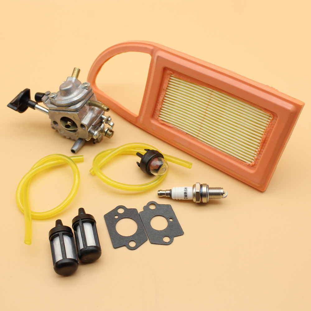 Air Fuel Filters Replacement Kit Parts Primer Bulb For Stihl Leaf Blower Useful