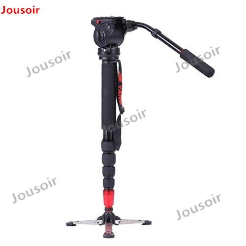 PROGO JY0506 Liga De Alumínio Monopé Profissional Para Vídeo & Câmera/Tripé Para Vídeo/Cabeça do Tripé & Carry Bag atacado CD50