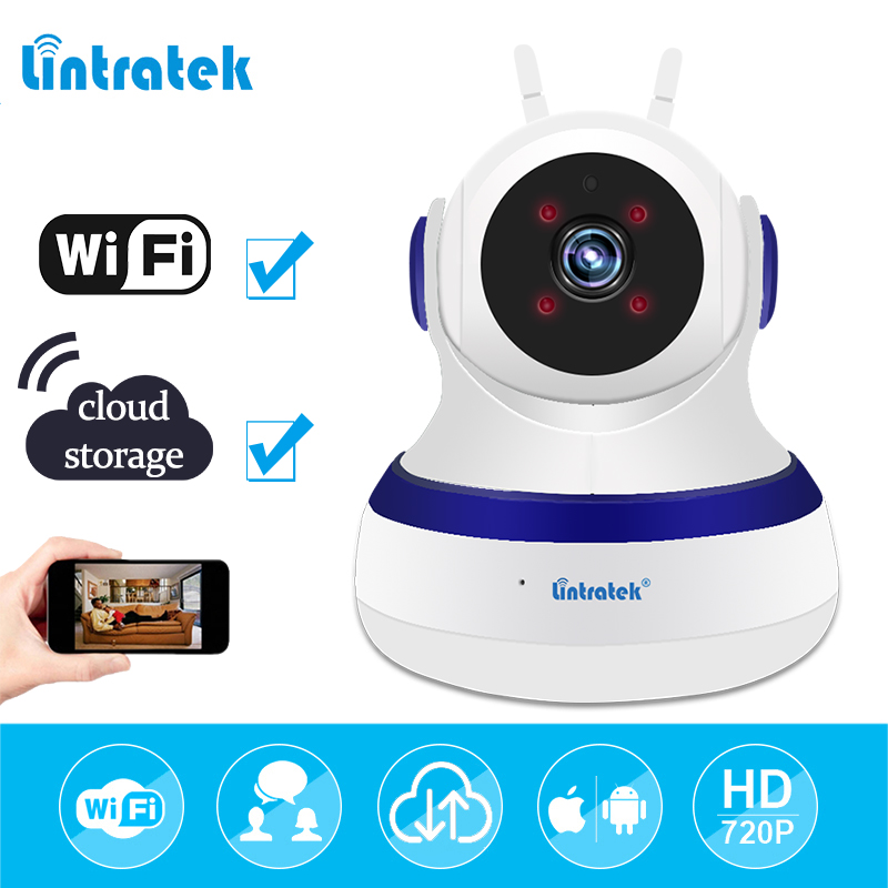 mini CCTV Wireless Camera wifi Surveillance Home Security Camera ip wi-fi hd 720P Baby Monitor ip Cam Babyphone indoor LINTRATEK annke mini hd 720p smart wireless pt security camera 1 0mp indoor ip camera wifi baby monitor 720p cctv surveillance camera