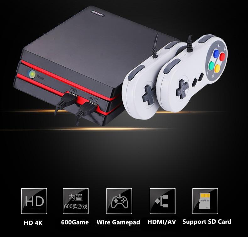 CoolBaby yeni HDMI/AV Video oyun konsolu ile 2 tel USB dahili 600 klasik oyunlar aile TV retro oyun konsoluCoolBaby yeni HDMI/AV Video oyun konsolu ile 2 tel USB dahili 600 klasik oyunlar aile TV retro oyun konsolu