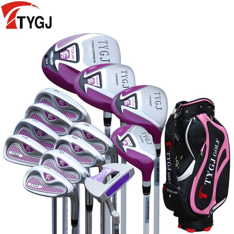Бренд TTYGJ. Дамы женщины гольф-клубы полный набор гольф сумка гольф утюги набор