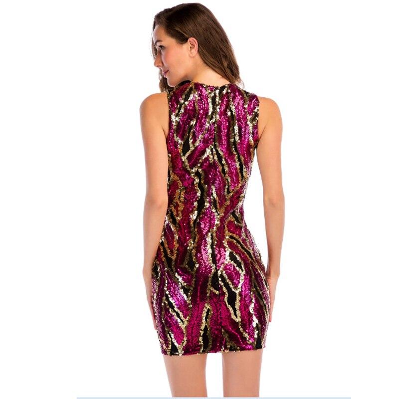 52727cba98 MUXU sexy red sequin dress vestidos mujer women glitte womens ...