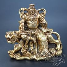 Antique collection Imitation ancient The copper God statue of arhat ornaments