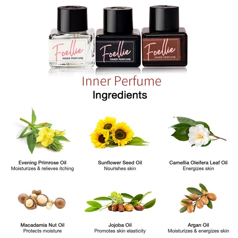 FOELLIE Inner Perfume Feminine Care Hygiene Cleanser Perfume for Underwear Fragrance Scent 5ml in Deodorants Antiperspirants from Beauty Health