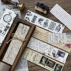 Retro Sammlung Lesezeichen Papier Cartoon Tiere Lesezeichen Werbegeschenk Schreibwaren-folie Lesezeichen Nachricht karte