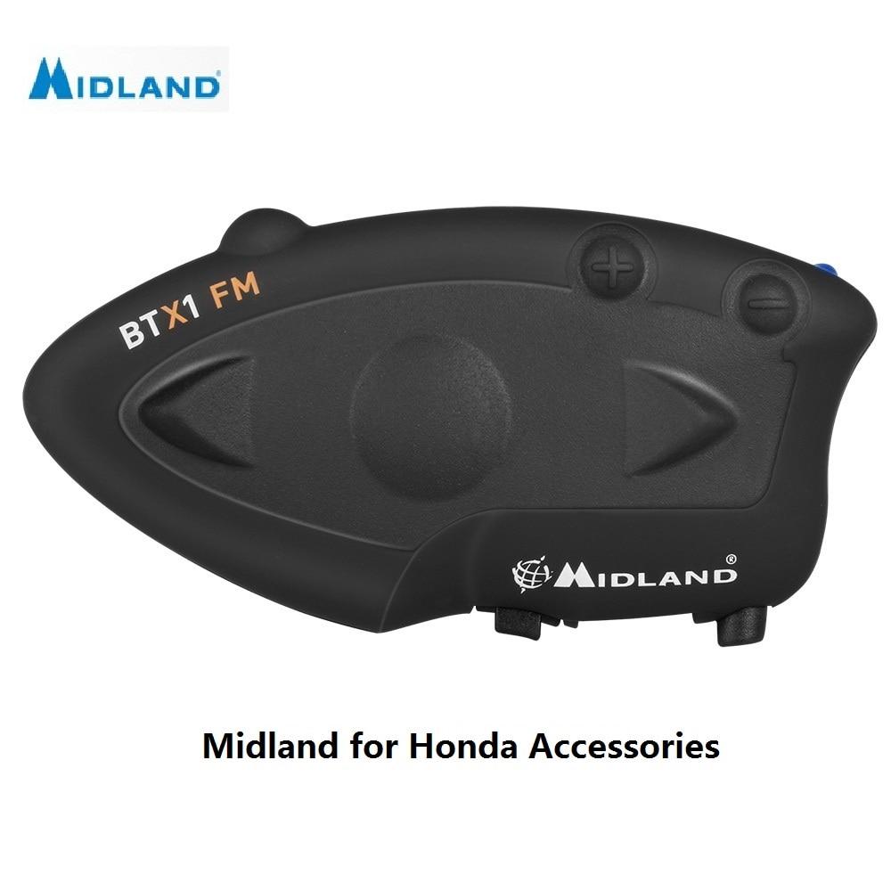 MIDLAND BTX1 FM motorcycle helmet intercom waterproof BT interphone intercomunicador moto wireless helmet bluetooth headset midland xt50