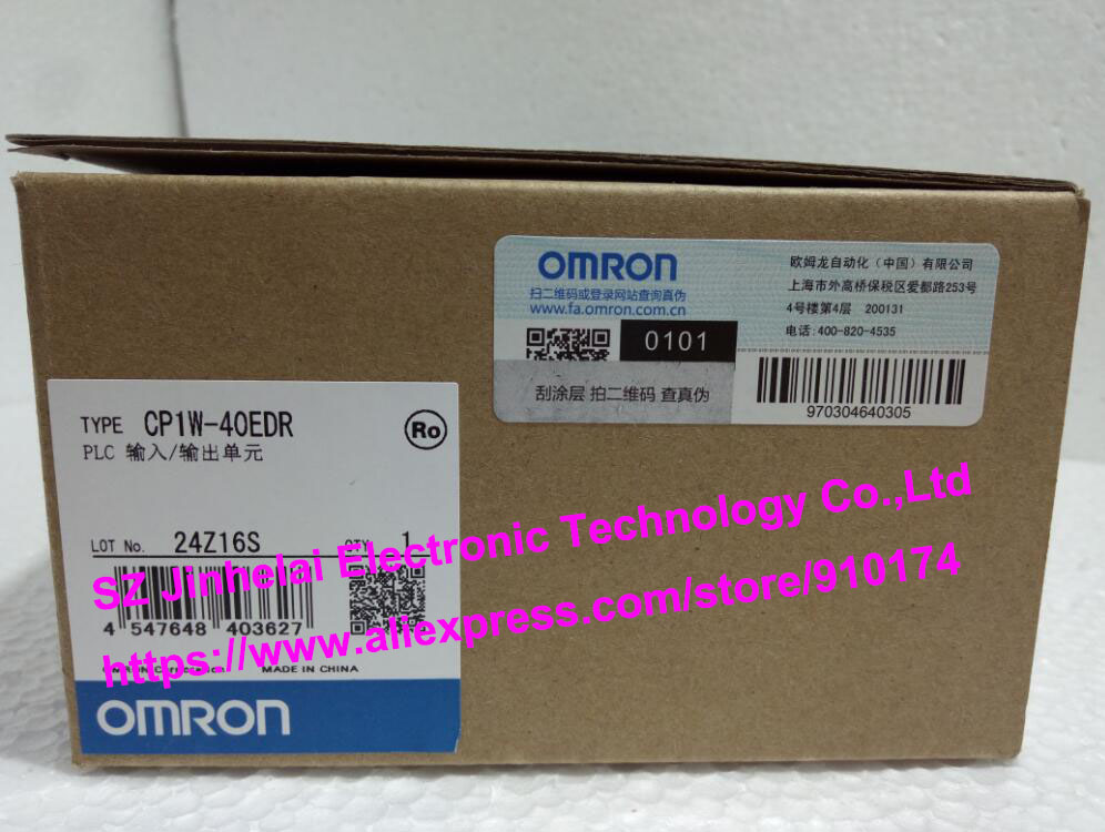 New and original  CP1W-40EDR  OMRON PLC INPUT/OUTPUT UNIT 100% new and original cj1w nc433 omron position control unit