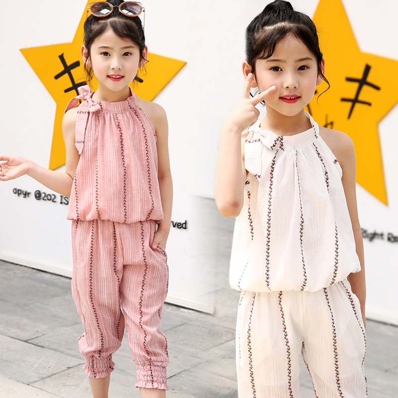 3045cf4f3 Detail Feedback Questions about girls suits 2018 new summer baby ...