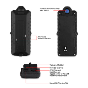 Image 4 - TK10 GPS GSM WIFI Position GPS Tracker Car Waterproof IPX7 Magnet Rastreador SD Offline Data Logger Tracking 10000mAH Battery