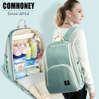 Diaper Bags Backpack For Mom Baby Care Organizer Waterproof Bags Travel Multi Functional Nappy Maternity Mummy