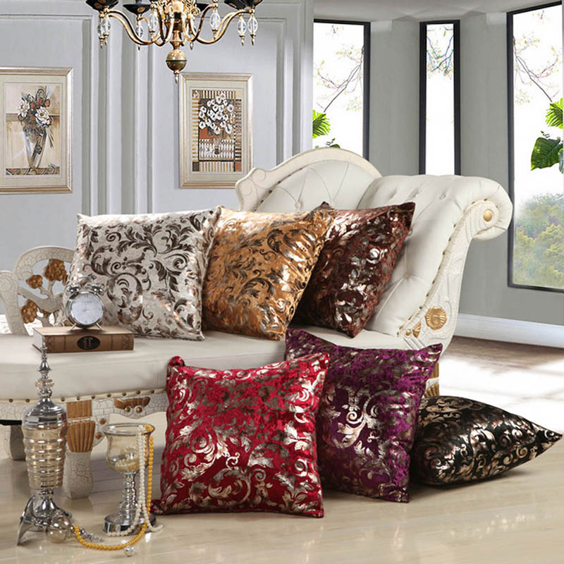 compare prices on silver throw pillows online shopping. Black Bedroom Furniture Sets. Home Design Ideas