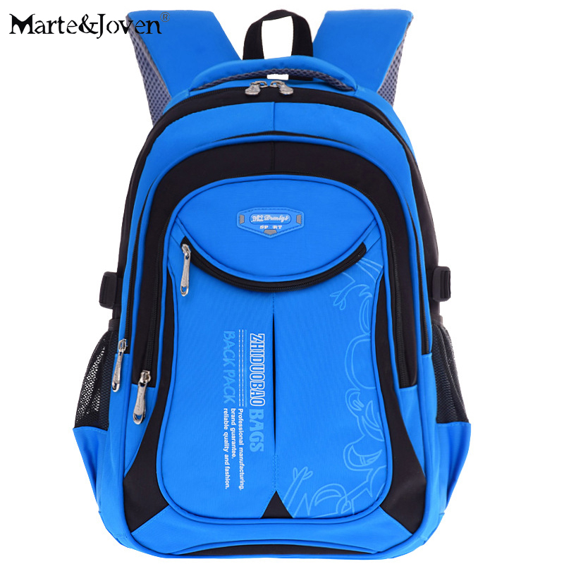 New Fashion High Quality Oxford Children School Bags Backpacks Brand Design Teenagers Best Students Travel Backpack Rucksacks