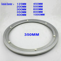 Free Shipping Wholesale Outside Dia 350 MM 14 Inch Quiet And Smooth Solid Aluminium Bearing Lazy