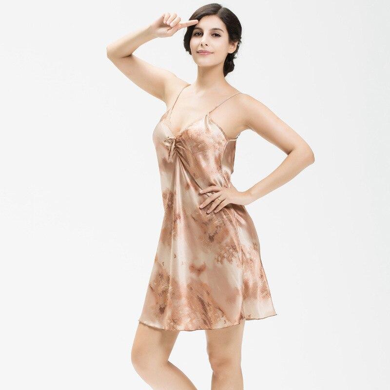 Femmes Sexy Sling Lingerie Chemises de Nuit Dames Profonde V Sans Manches vêtements de Nuit de Faux chemise de Nuit En Soie Femelle Satin De Nuit Robe De Nuit