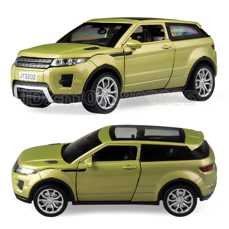 Zinc alloy model car 1:32 luxury SUV lighting creative puzzle high quality discount spor ...