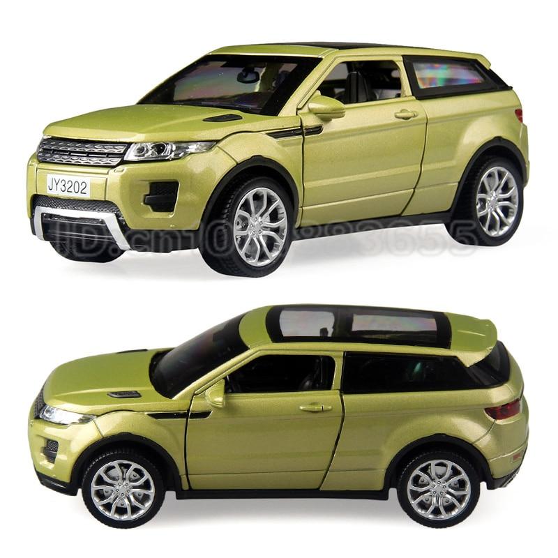 Zinc alloy model car 1:32 luxury SUV lighting creative puzzle high quality discount spor ...