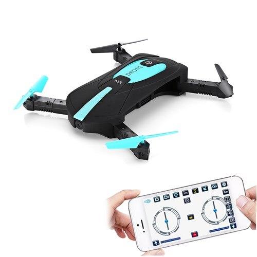 JY018 ELFIE Wi-Fi FPV Quadcopter Мини Складная селфи Дрон RC Дроны с 2MP Камера HD FPV Профессиональный H37 720 P вертолет