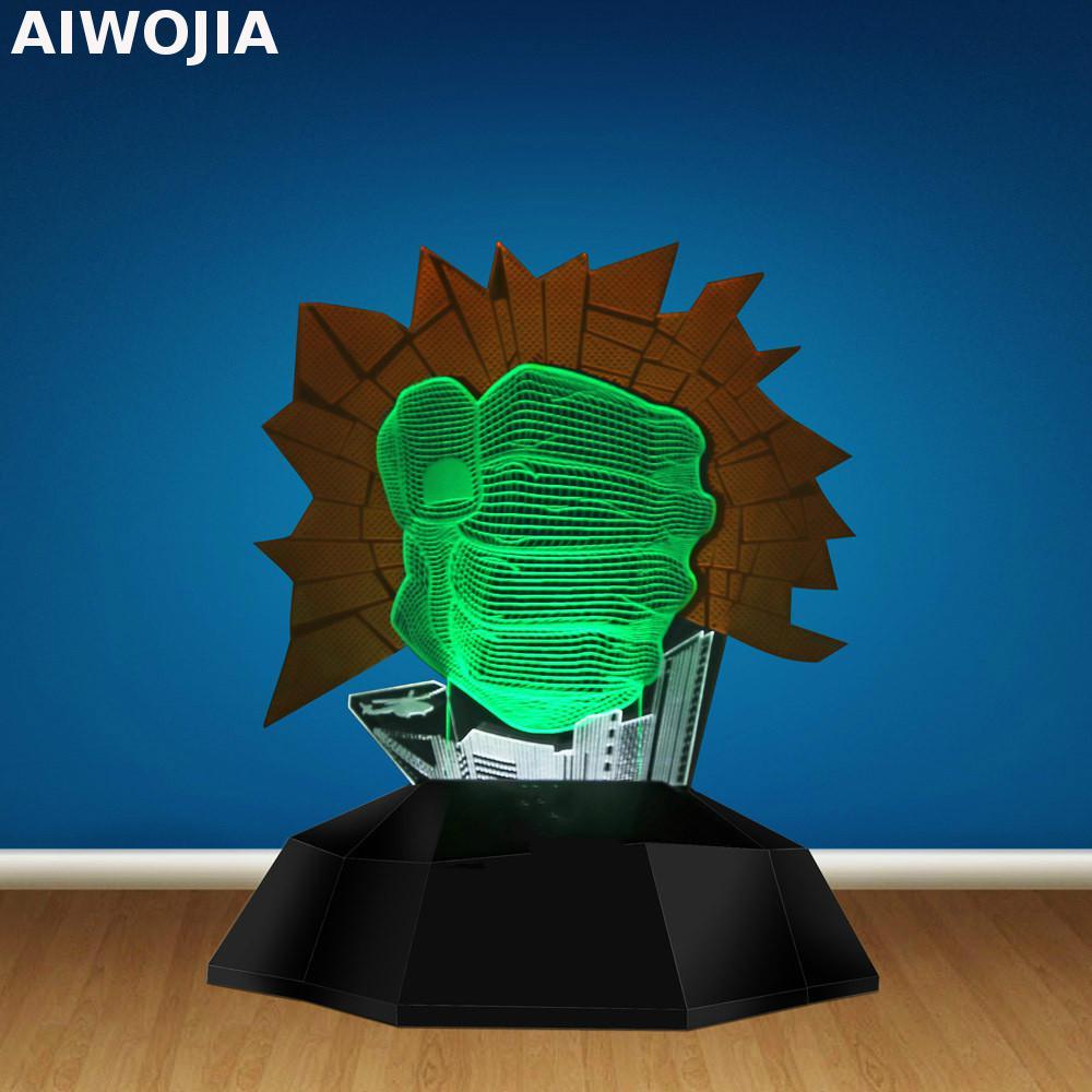 Novelty Usb Led 3d Led Lamp Kids Room Light Luminaria Led Luminaria De Mesa 3d Light Nursery Lamp Led Usb Light