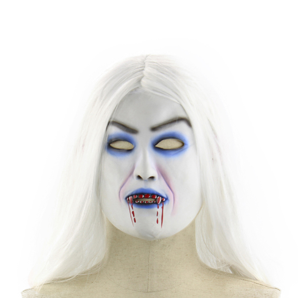 Online Get Cheap Halloween Mask with White Hair -Aliexpress.com ...
