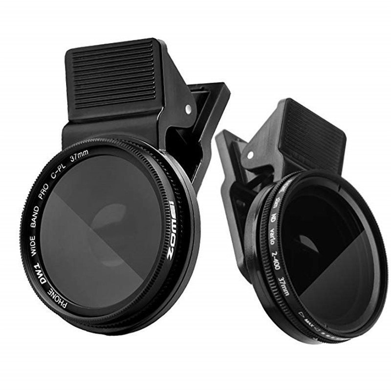 Professional CPL Phone Len Camera Circular Polarizer 37mm Lens For IPhone 7 6s Plus Samsung Xiaomi Huawei Htc Windows Smartphone