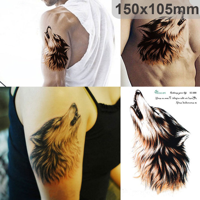 1 Unidades 15x105 Cm Moda Tatuaje Temporal Impermeable Colorido