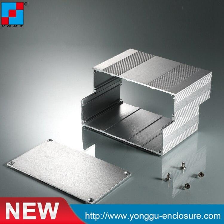 YGS-020 145*82*200mm (w x h-l) aluminum extrusion case die casting aluminum housing/aluminum aluminum pcb enclosure 215 52 263 mm w h l aluminum extruded enclosures housing project box case