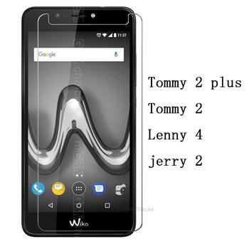 Перейти на Алиэкспресс и купить Смартфон 9H закаленное стекло для WIKO Tommy 2 plus защитная пленка для экрана чехол для телефона Wiko Lenny 4 jerry 2