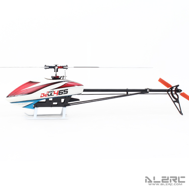 ALZRC 465- Devil 465 RIGID SDC/DFC Helicopter Empty Machine alzrc devil 500 pro sdc dfc brushless esc motor carbon fiber structure 3300mah battery flybarless gyro system rc helicopter kit