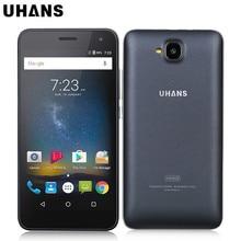 ORI G инал uhans H5000 4 г мобильный телефон Android 6.0 5 дюймов MTK6737 Quad Core 3 г Оперативная память 32 г Встроенная память смартфон 4500 мАч аккумулятор сотового телефона