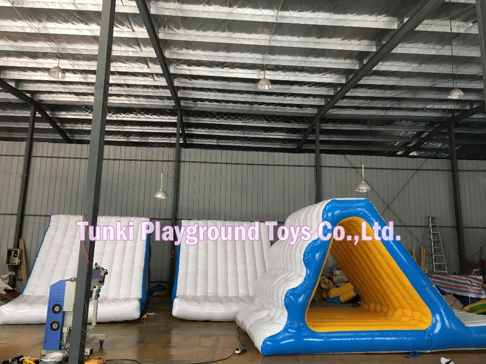 water slide equipment game 0.9mm PVC