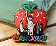 Usa new york city big apple souvenirgummikühlschrankmagnet reise geschenk lustige