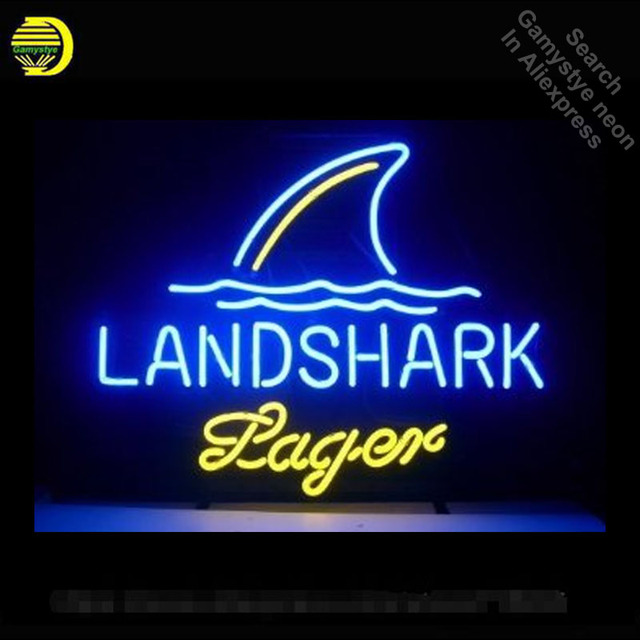 LandShar Lager Neon Sign neon bulb Sign neon lights Real glass Tube Handcraft Iconic Lamps Neon Bulbs Hotel lights for sale