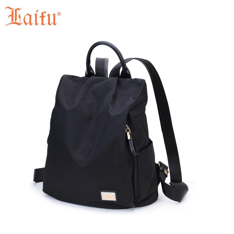 Laifu Brand Design font b Women b font Nylon Travel Bag Girls Lightweight font b Backpack