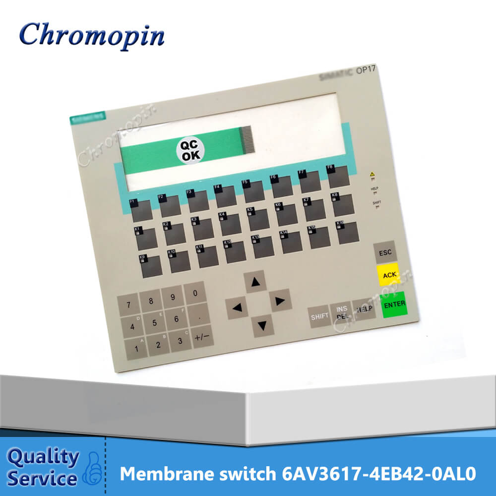 цена Membrane switch for 6AV3617-4EB42-0AL0 6AV3617-4FB42-0AL0 6AV3617-5BA00-0BC0 OP17
