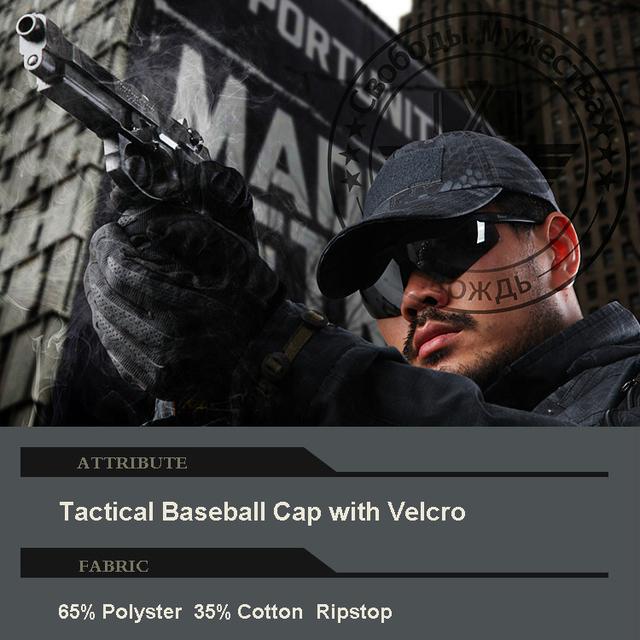Ripstop Tático boné de beisebol Cap Typhon Contratante com Laço na parte superior para o emblema