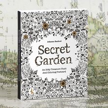 English Edition Secret Garden Magic forest 30 Sheets Coloring Card Tintage Postcards DIY Painting Drawing Book Colouring Books