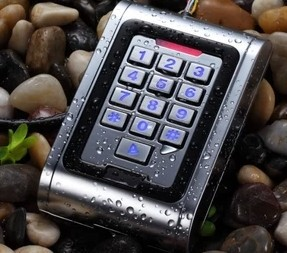 NEW Design 125KHZ ID RFID metal waterproof access control reader with keyboard