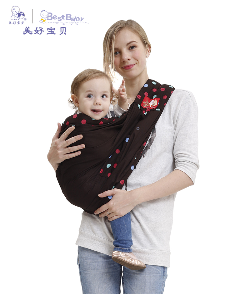 2016 Organic Cotton Ergonomic Baby Carrier Adjustable Newborn Baby Sling Portable Multifunctional kid carriage wrap sling multi function portable comfortable cotton baby carrier sling blue