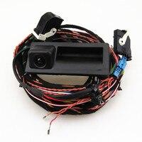 Стиль для автомобиля vw tiguan Парковка заднего вида Камера с штекер жгута проводов кабеля Запчасти RCD510 RNS510 5ND 827 566 c 5nd827566c