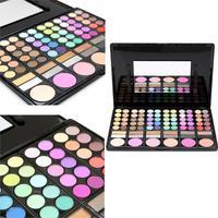 2017 Hot Sale Fashion Make Up Tools 78 Colors Eyeshadow Palette Set Waterproof Eyeliner Gel